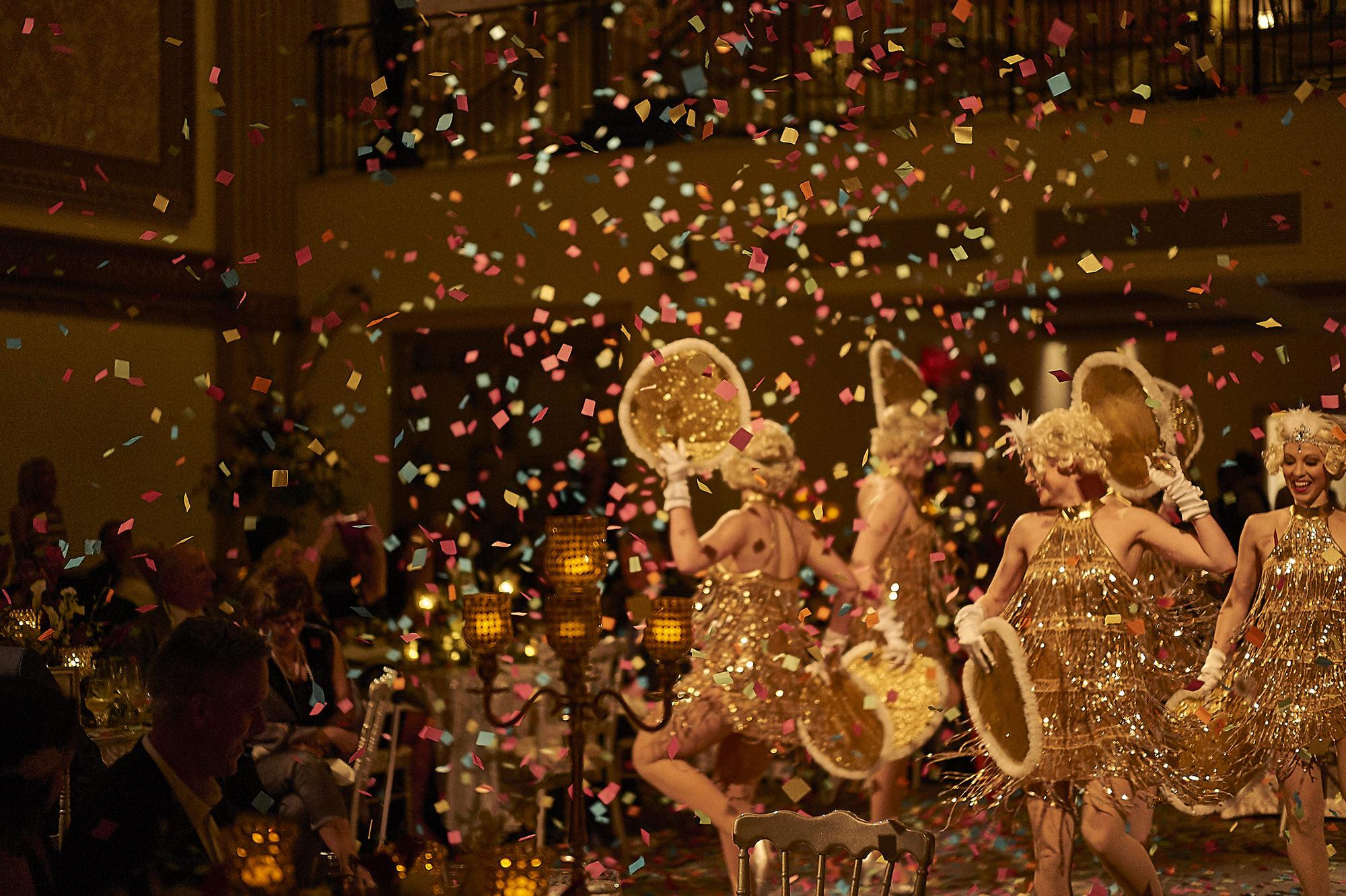 The Honey Taps Dancing In Confetti