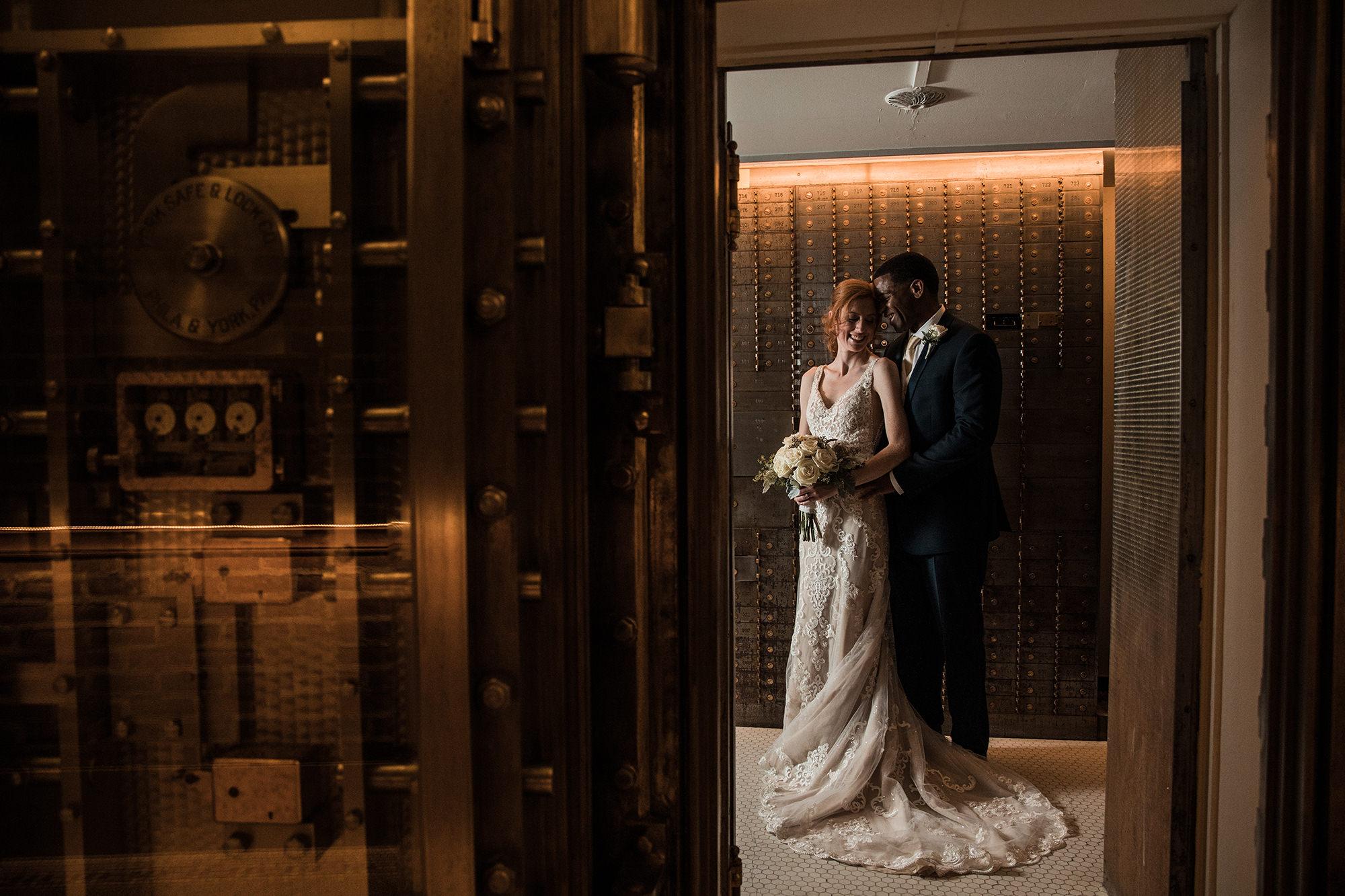 Miriam And Chris In Vault