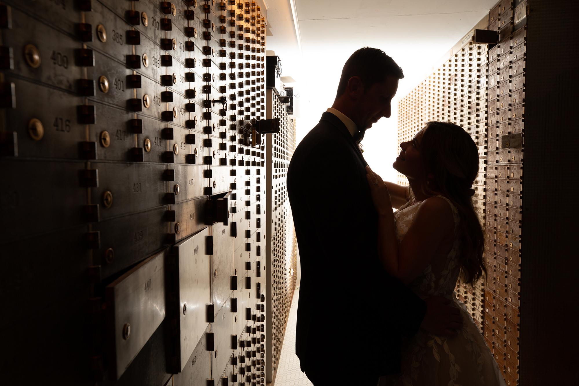 Jenny And Luke In Vault