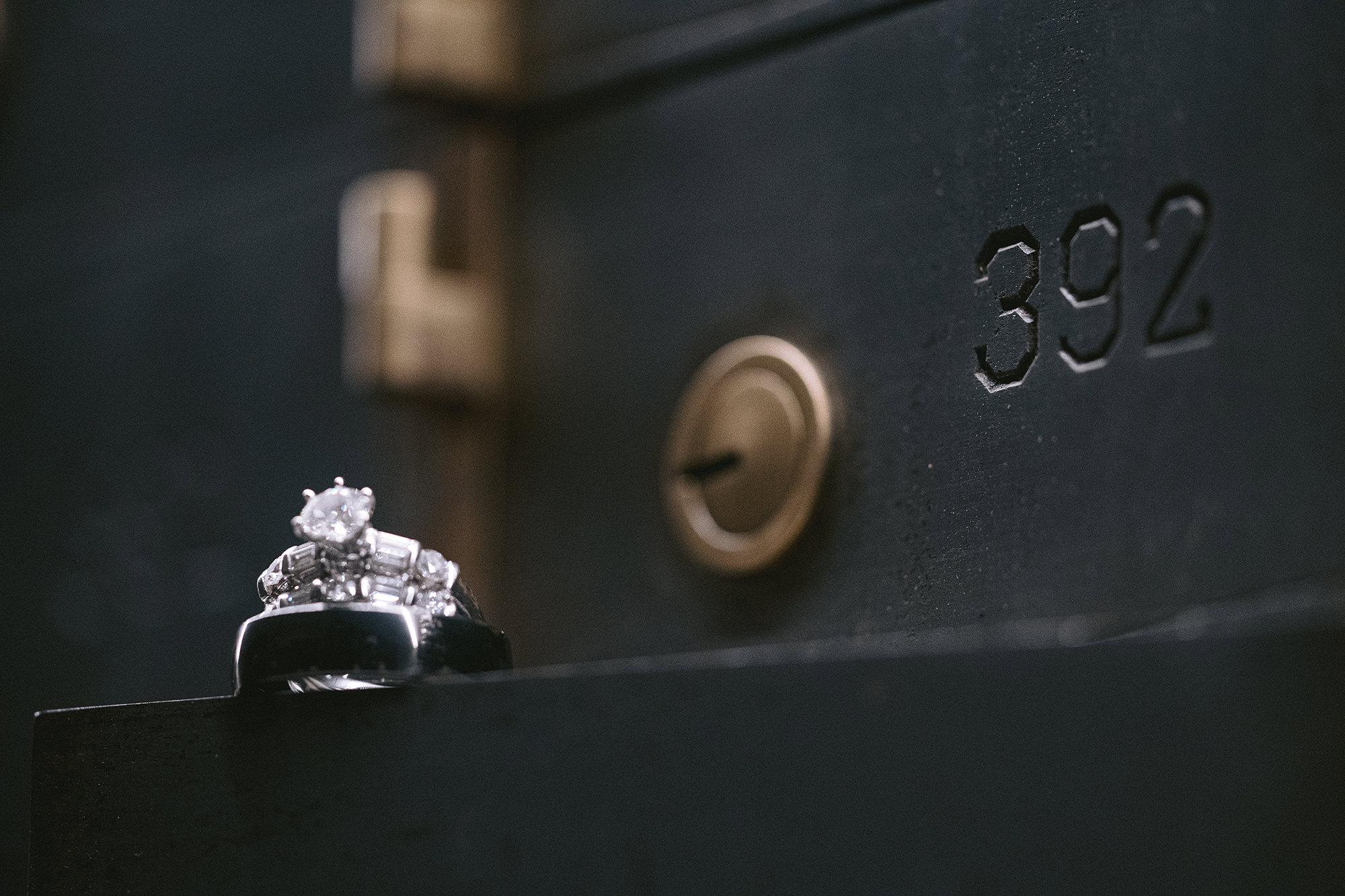 Ring In Safety Deposit Box