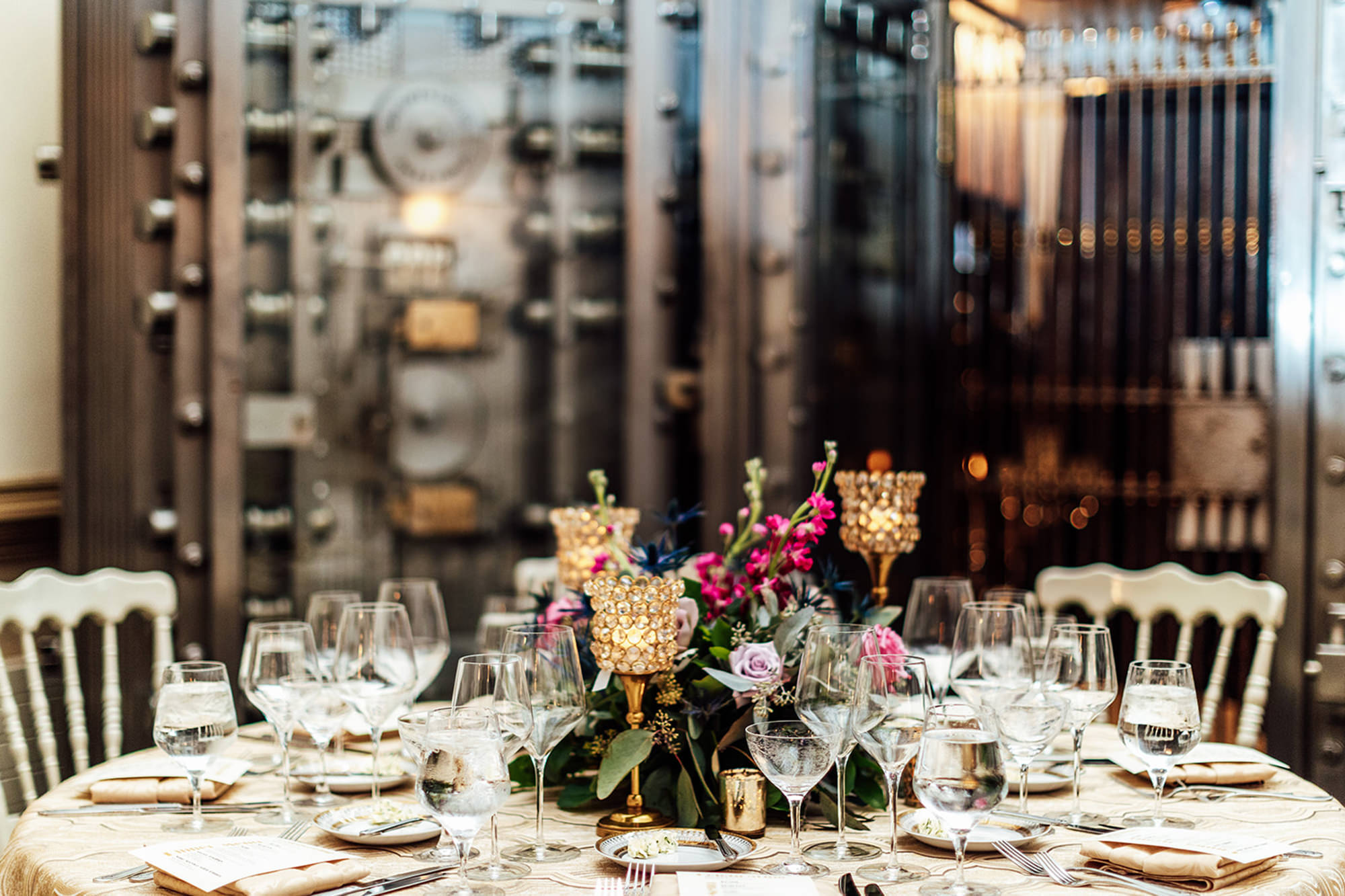Table Setting With Vault