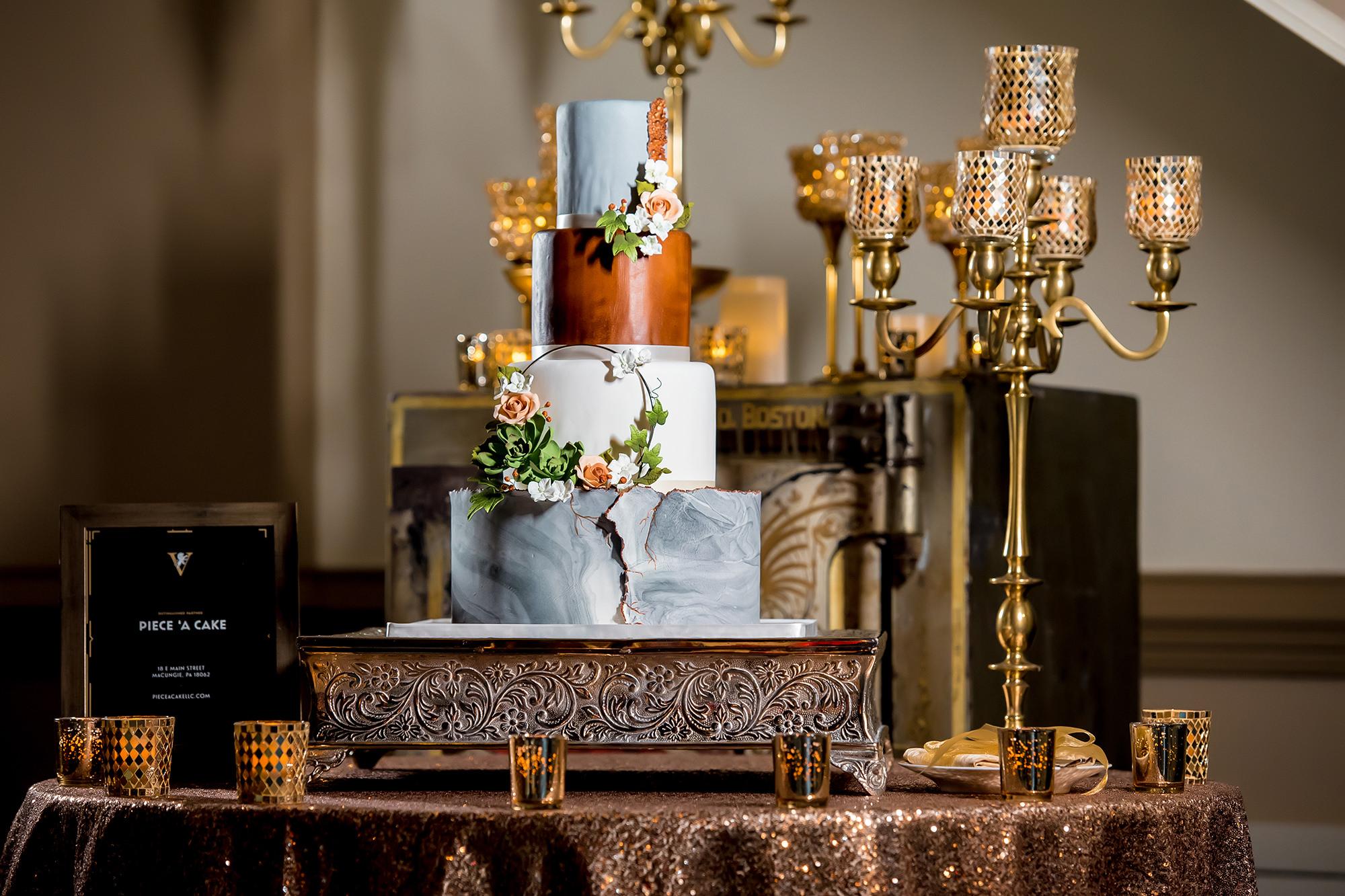 Piece A' Cake Wedding Cake