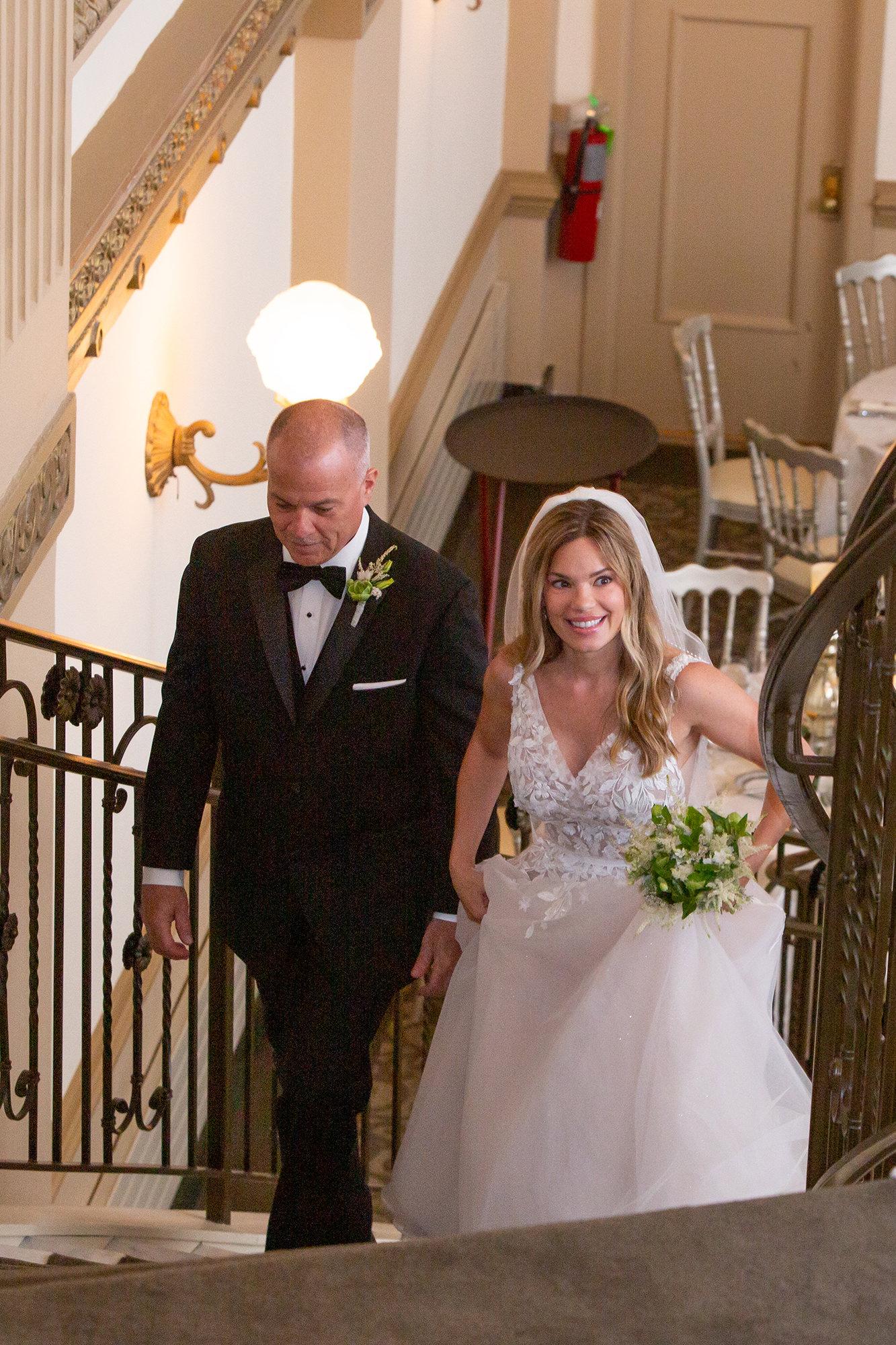 Jenny Walking To Altar
