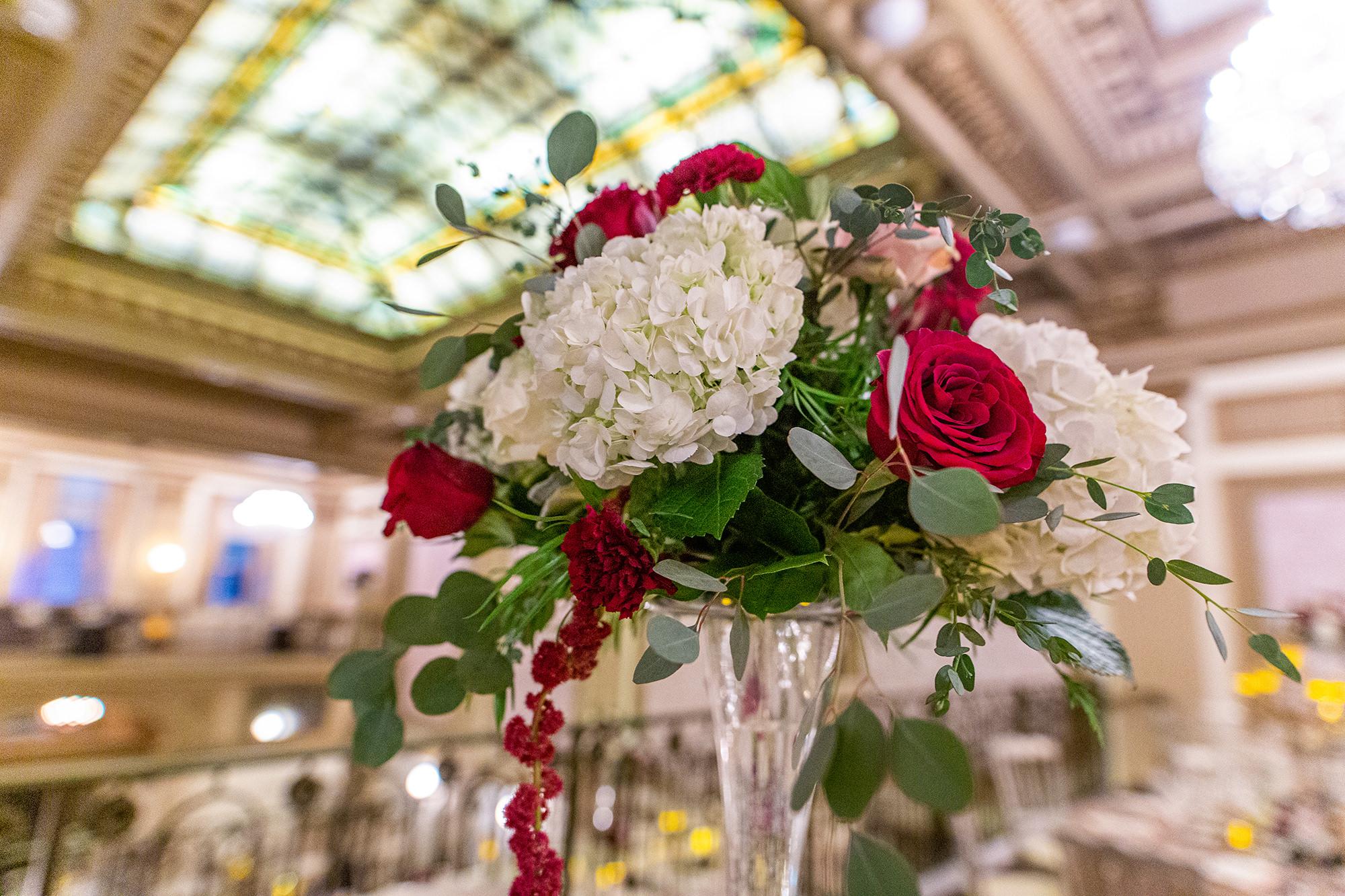 Wedding Table Florals