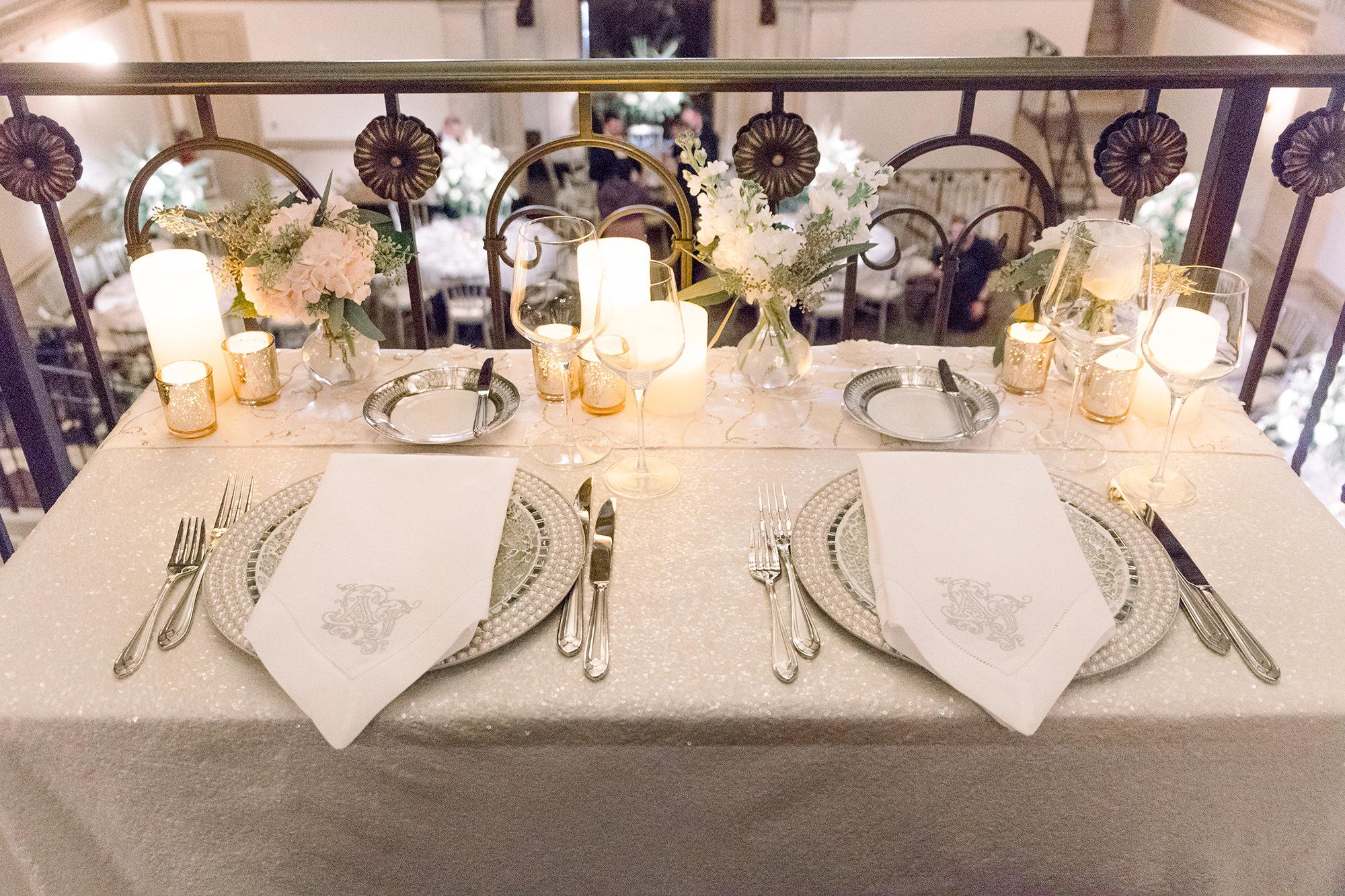 Jon And Abigail Sweetheart Table