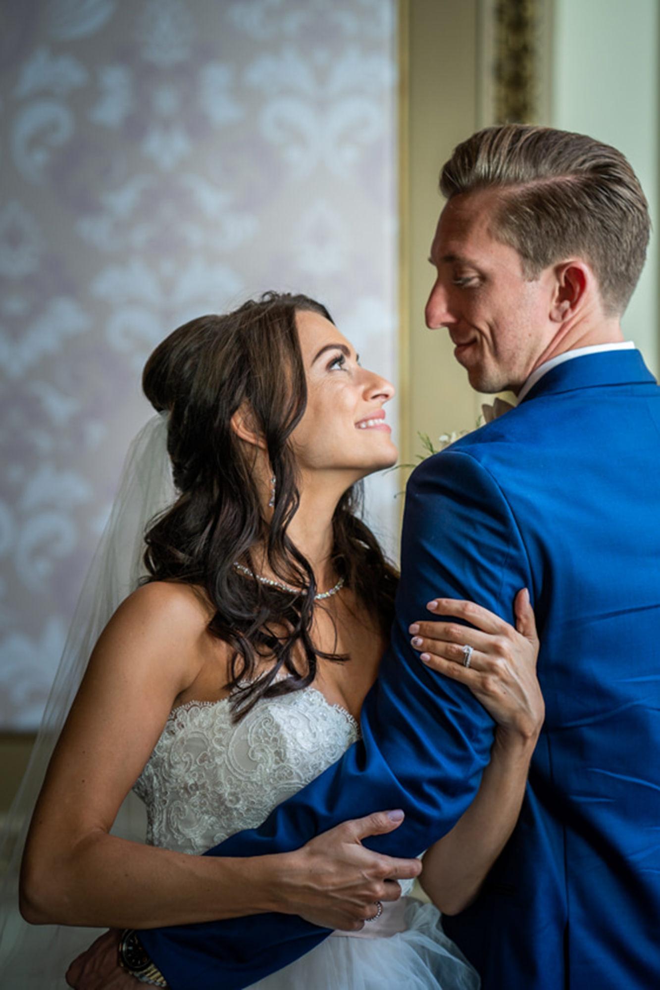 Kate And Brad Wedding Portrait