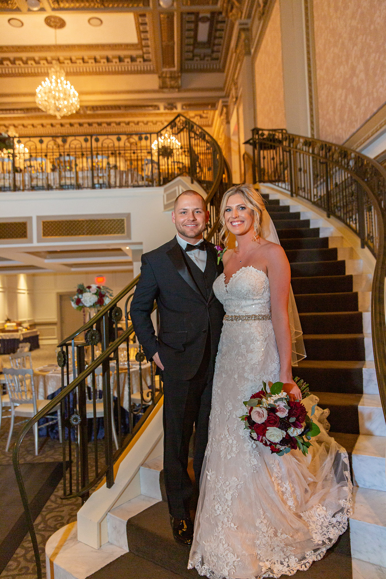 Kate And Eric On Grand Staircase