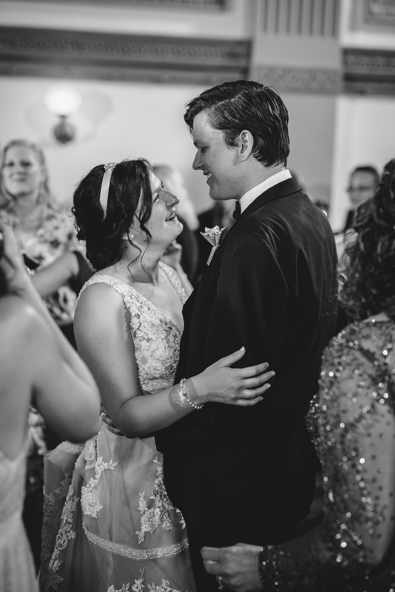 Stephanie And Tom On Dance Floor