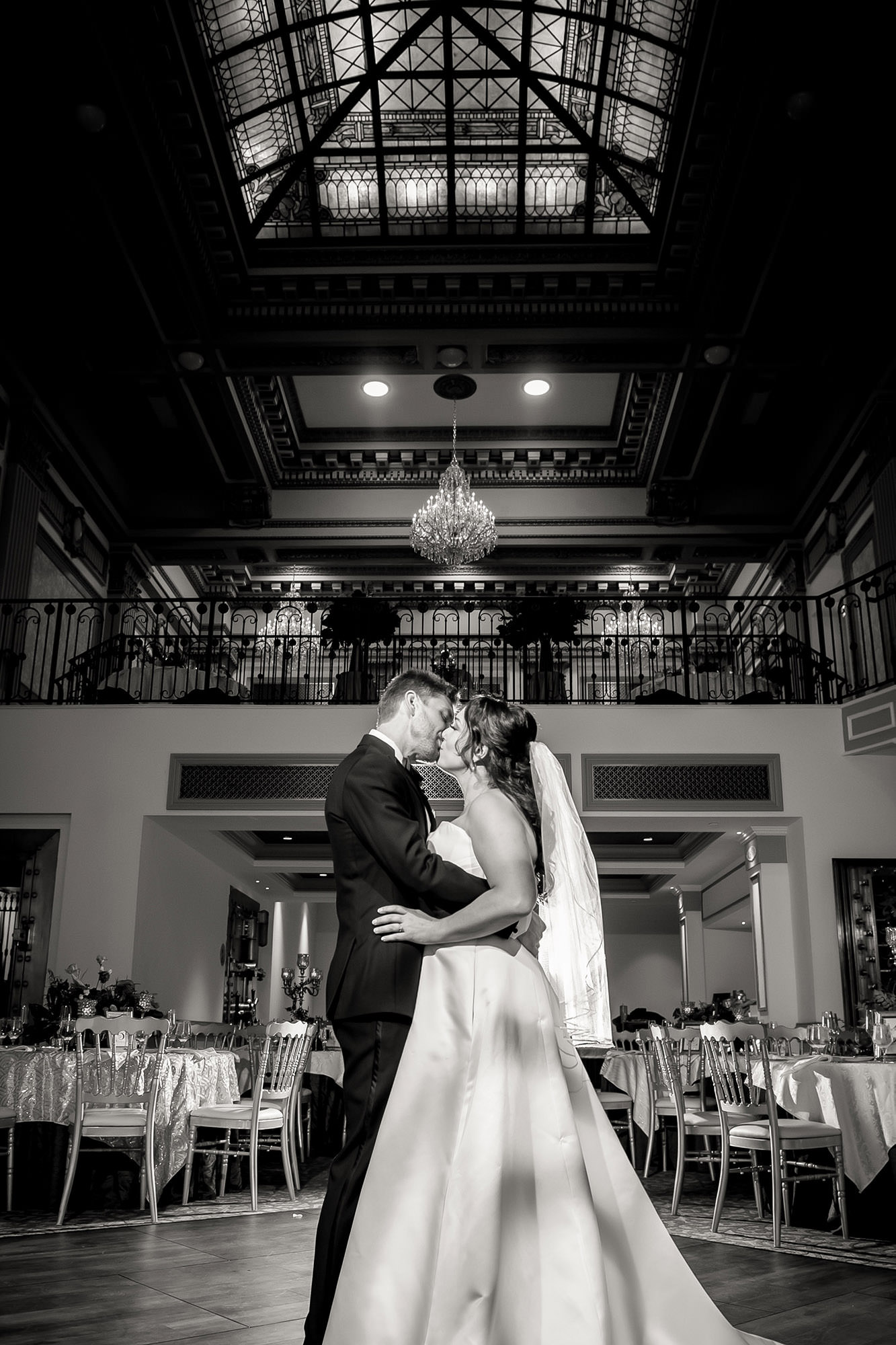 Caroline And Stephen In Great Hall