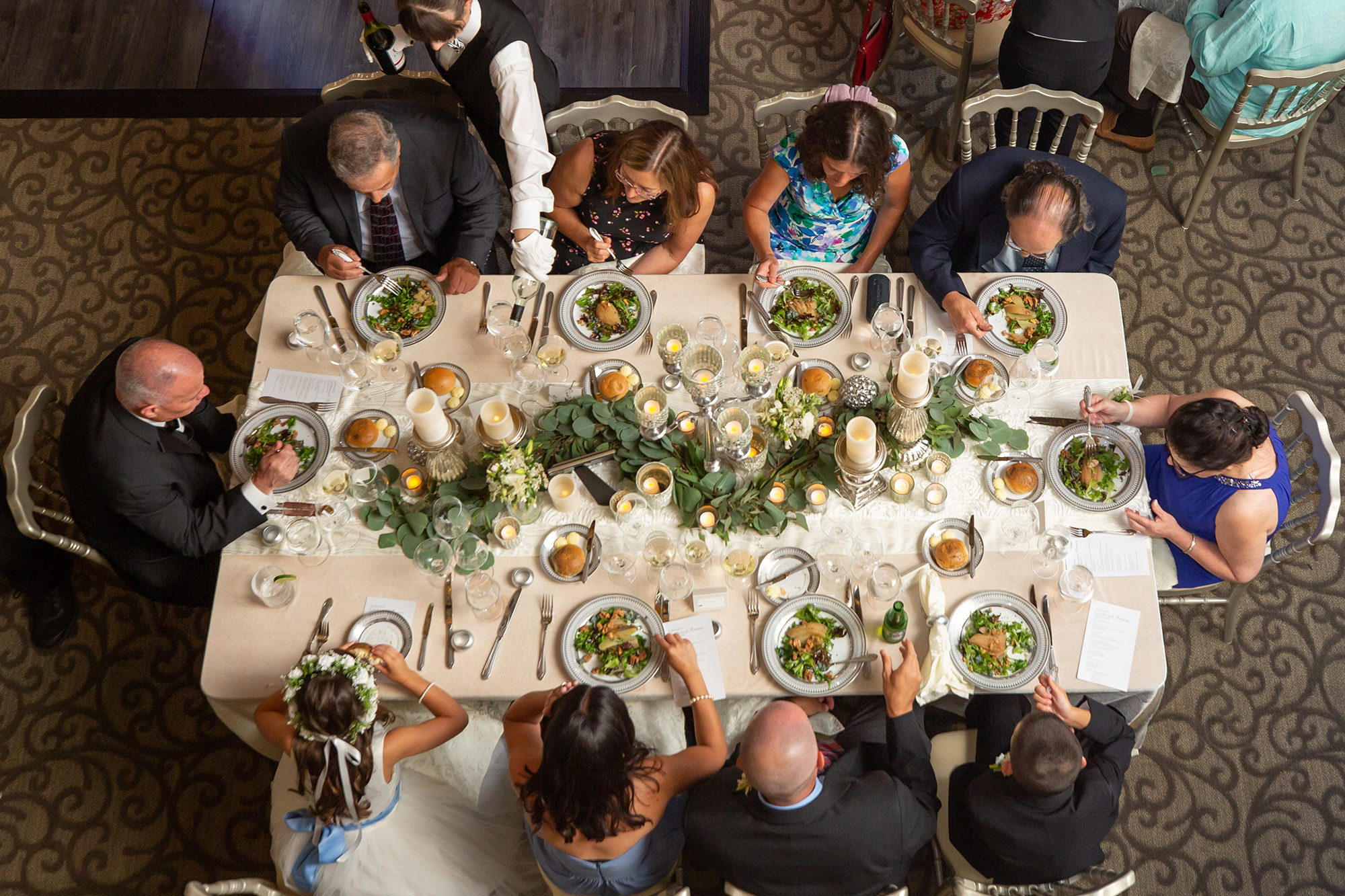 Guests At Dining Table
