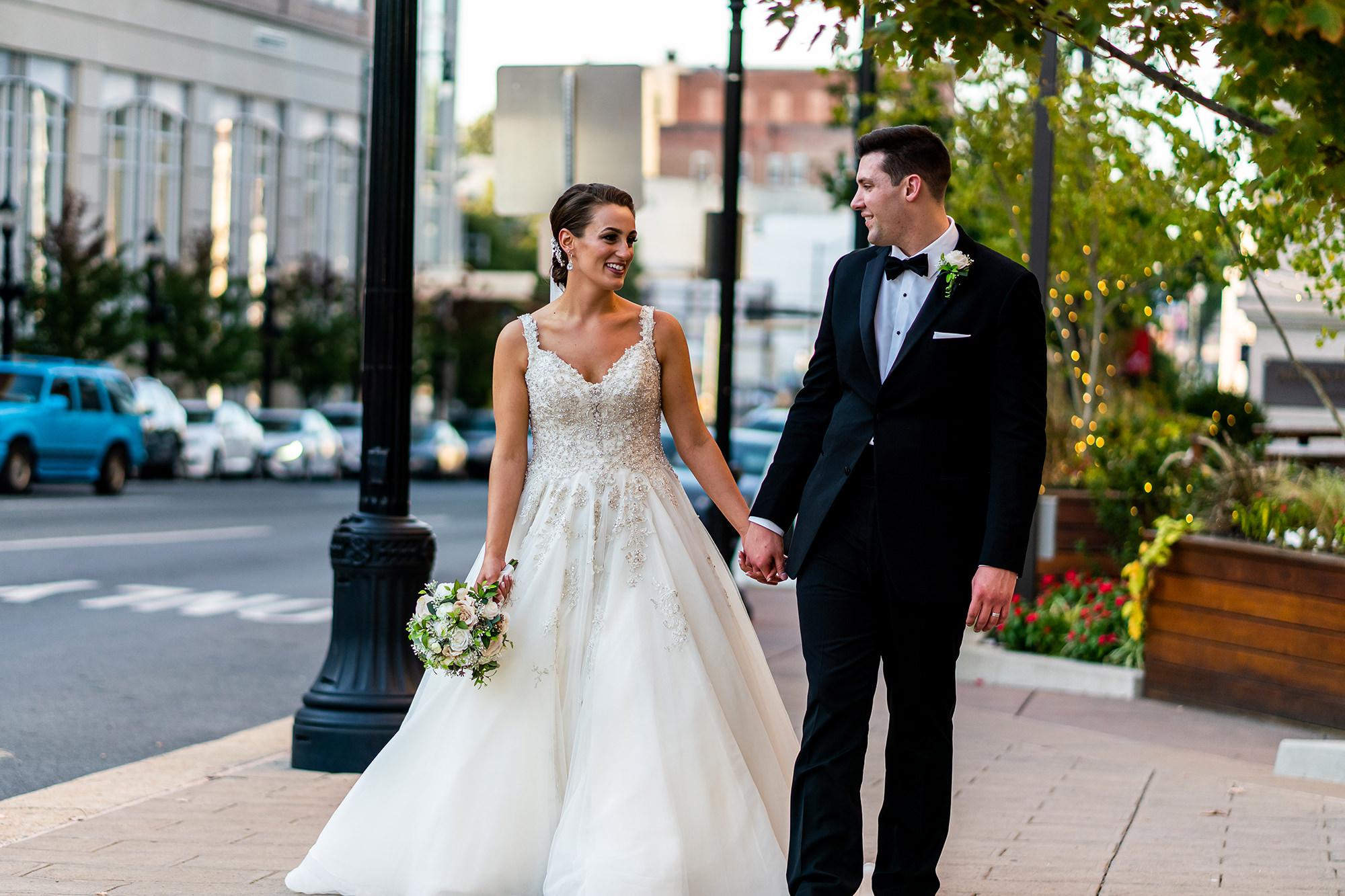 Erin And Jeremy On Hamilton Street