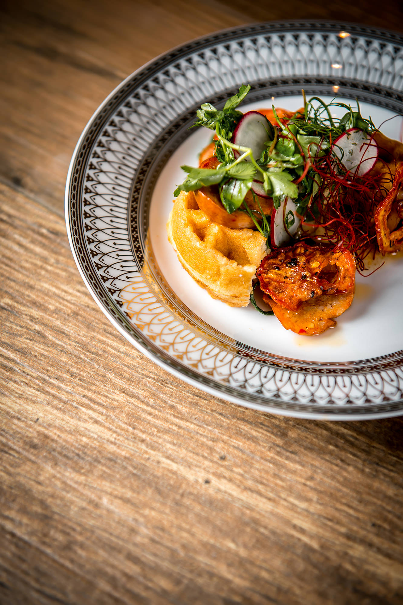 Chef Dinner - Chicken And Waffles