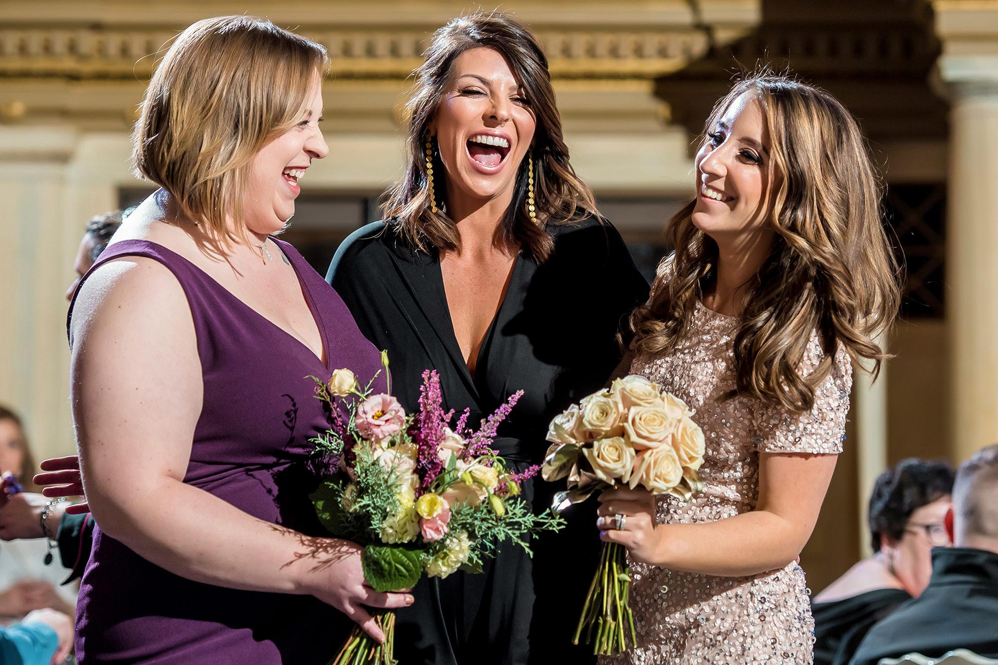 Guests At Vault 634 Wedding Showcase