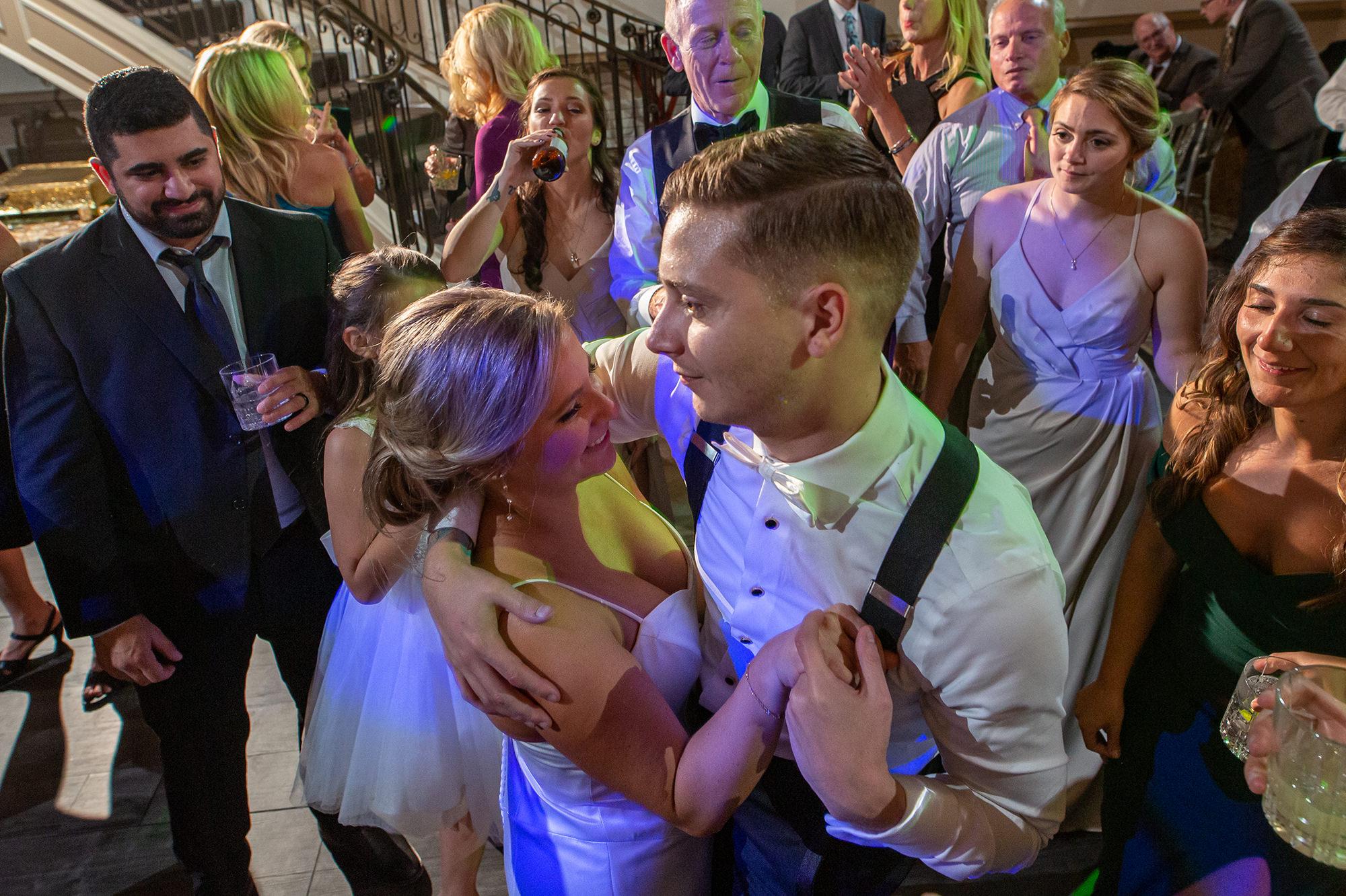 Tara And Michael Dancing At Reception