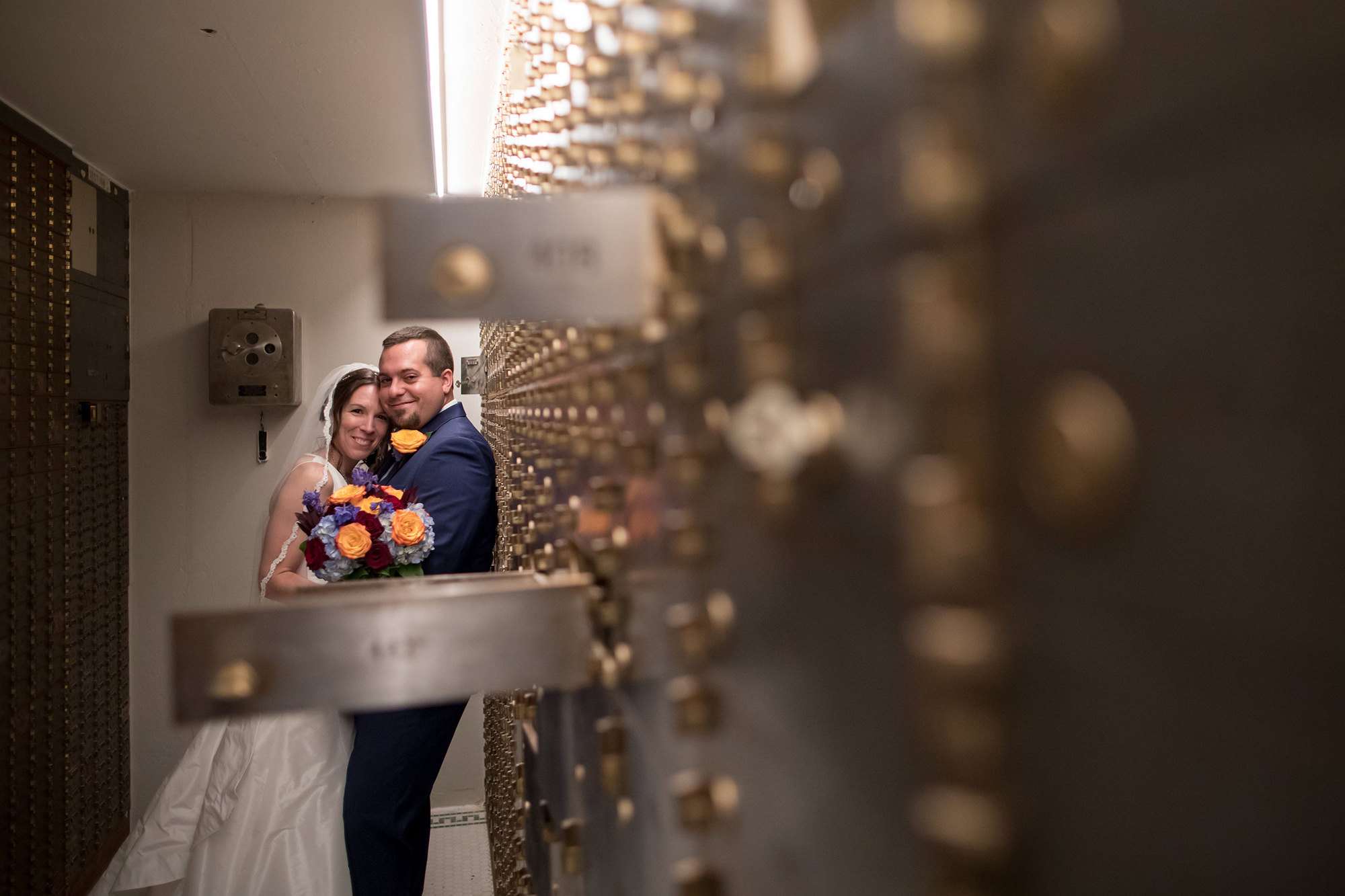 Erin And Adam In Vault