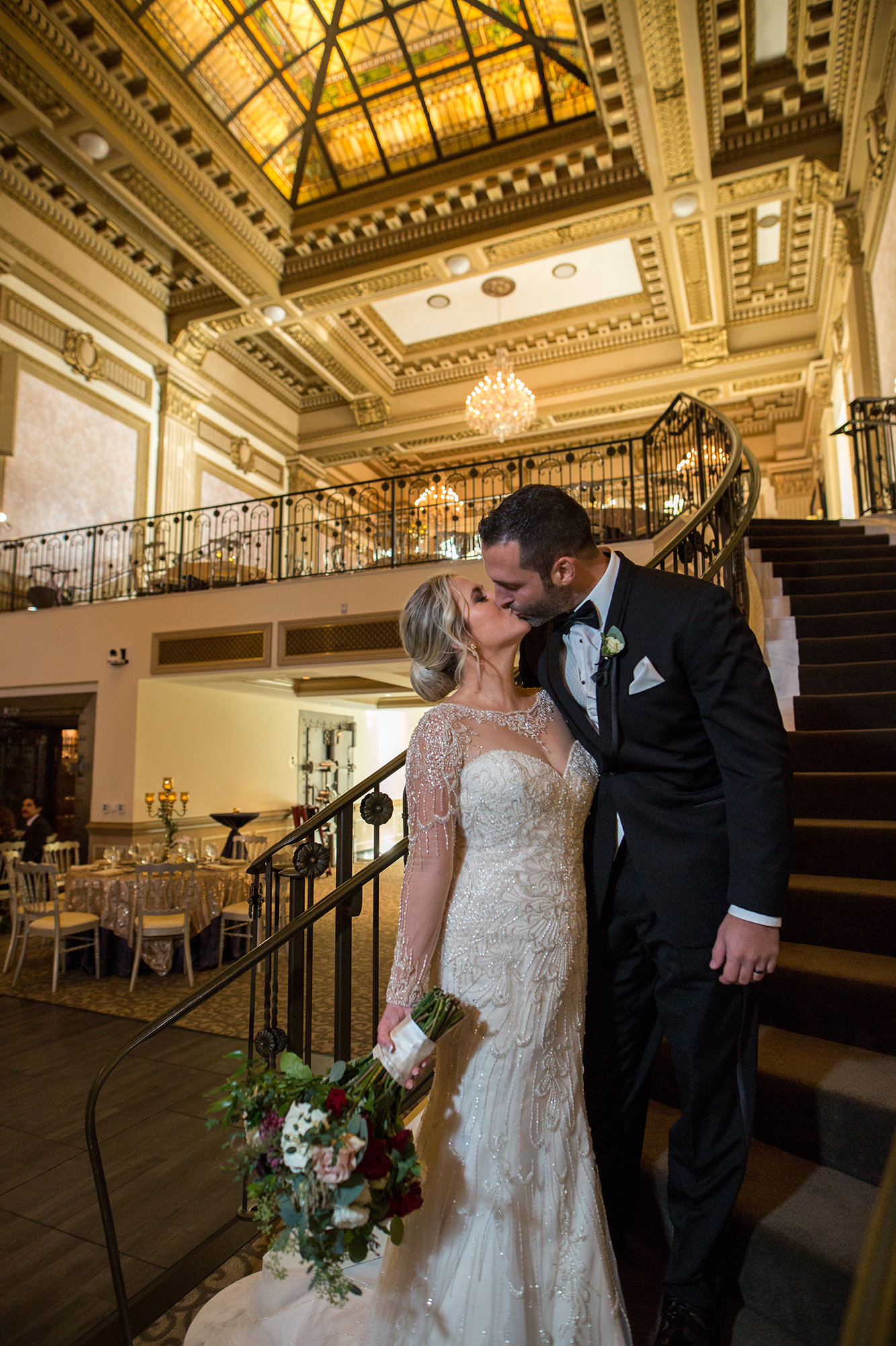 Lindsay And Dante In Great Hall