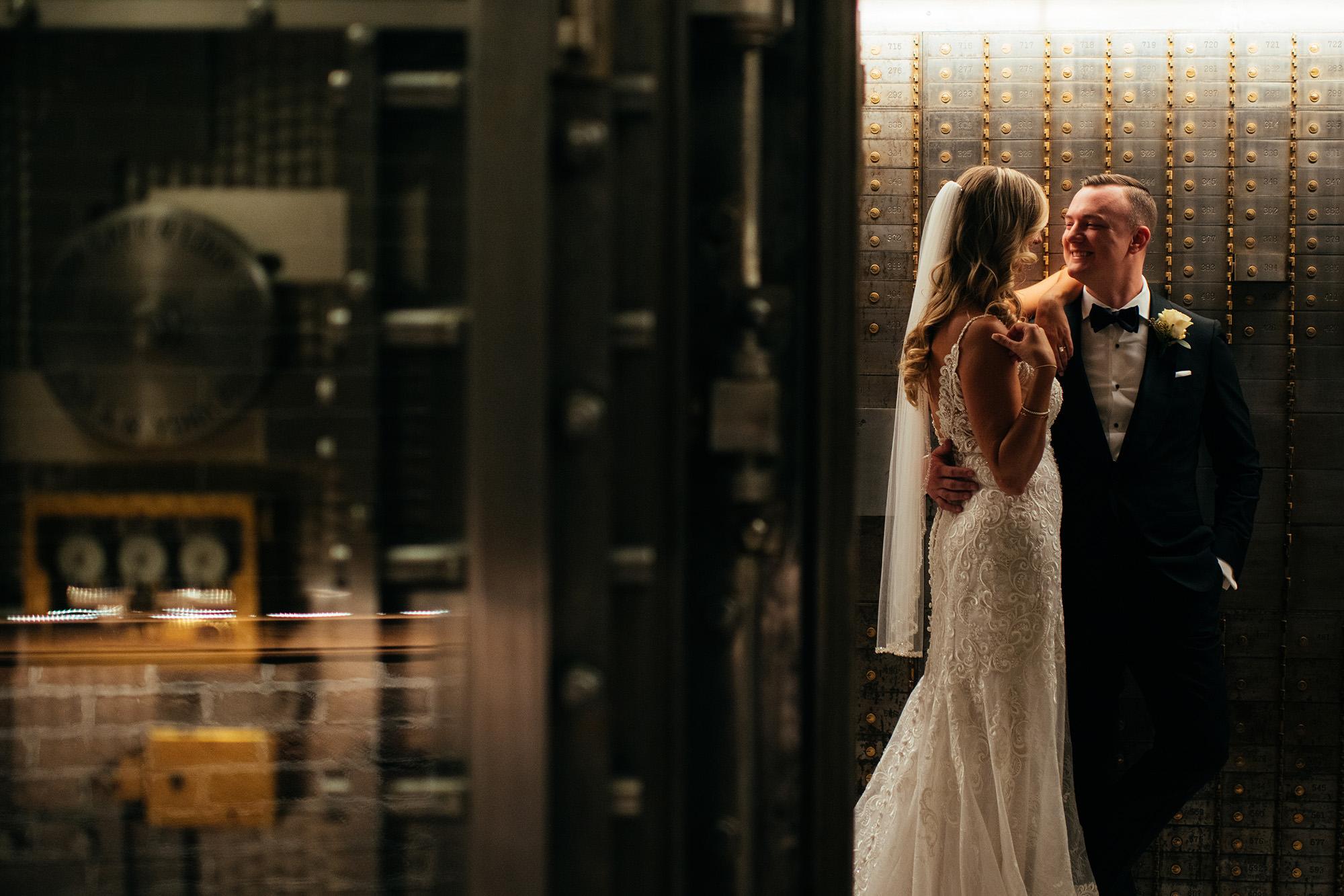 Kimberly And Ryan In Vault