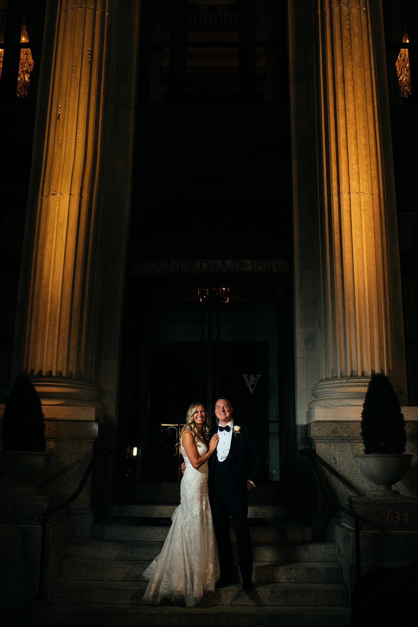 Kimberly And Ryan Outside Vault 634